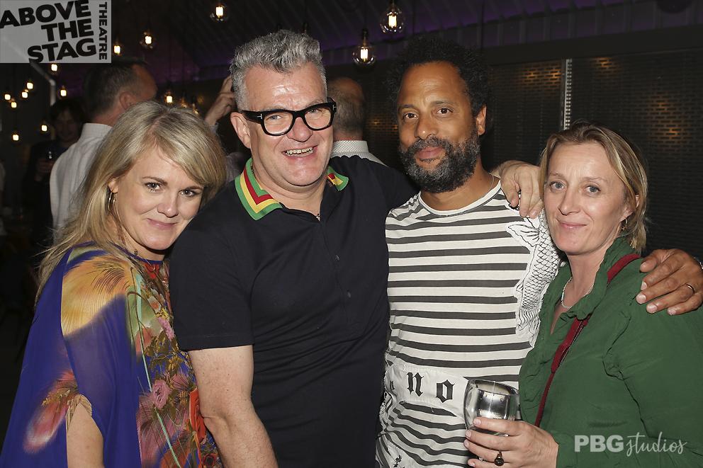 Sally Lindsay, Jonathan Harvey and friends