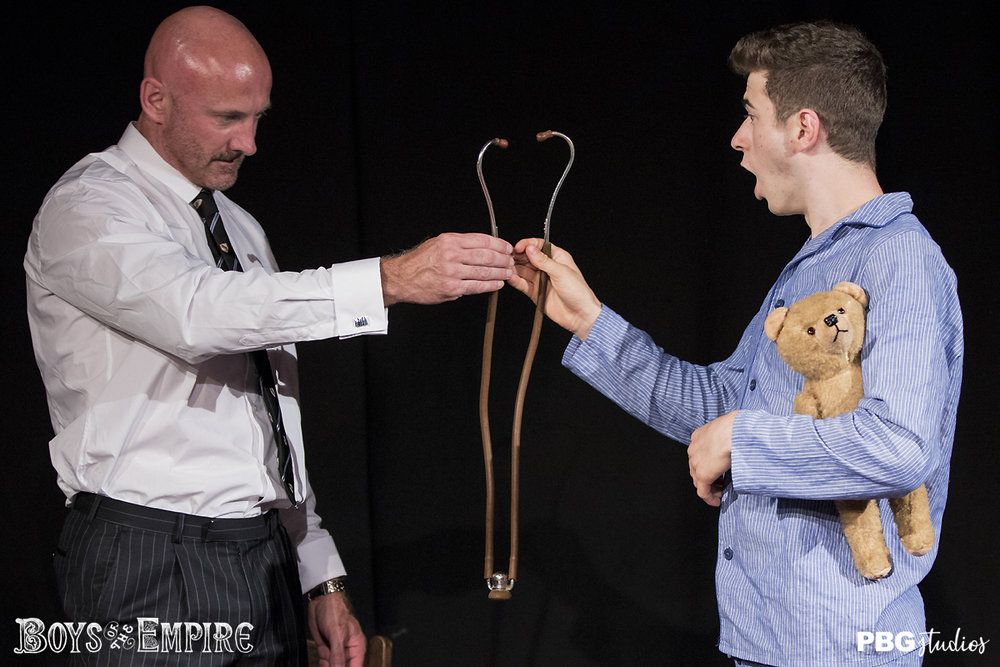 Kids Play (Boys of the Empire production) Drayton Arms, Edinburgh Fringe preview