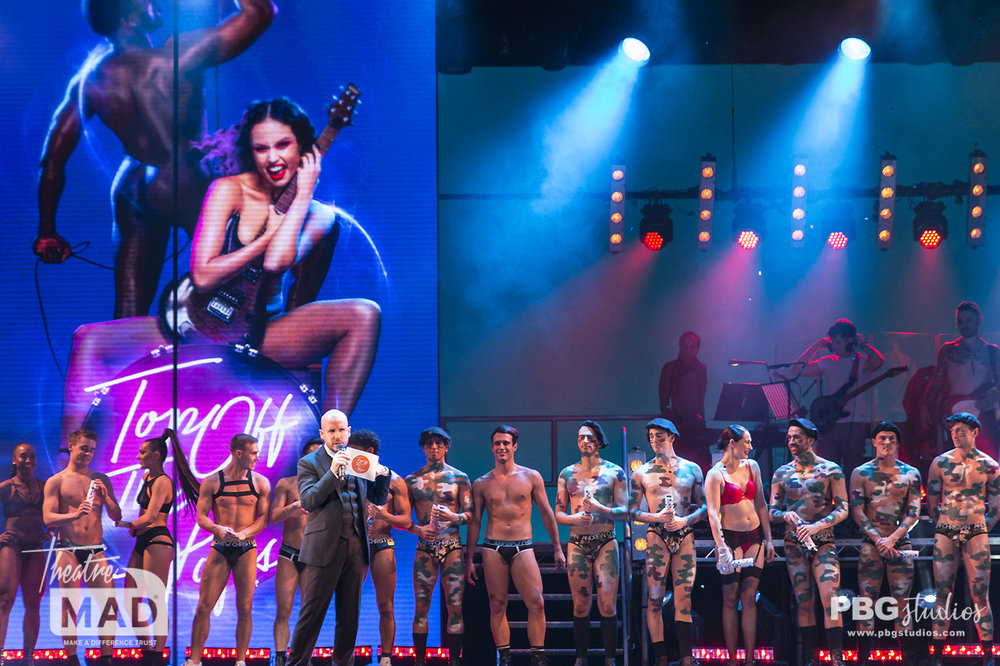 West End Bares Top Off The Pops 2018