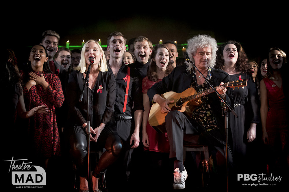 Kerry Ellis and Brian May - West End Christmas 2018 (The Actor Church)