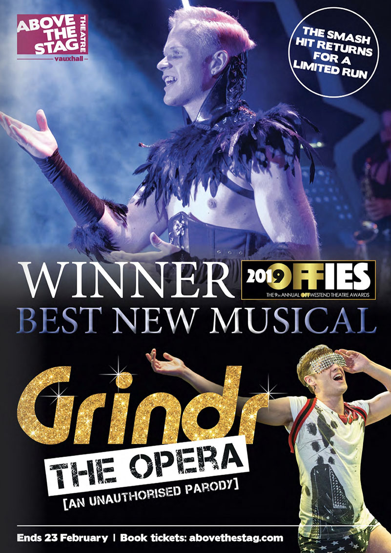 Grindr the Opera - OFFIES winner best musical 2019
