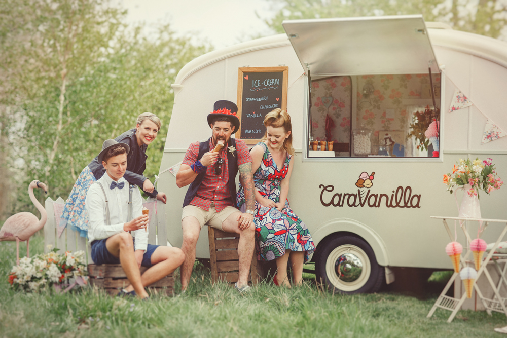 Nicki Feltham Photography - Caravanilla photoshoot - Make up by me