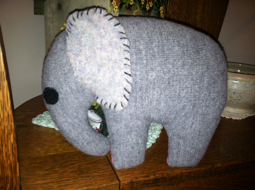 Circus Carl, the elephant-front