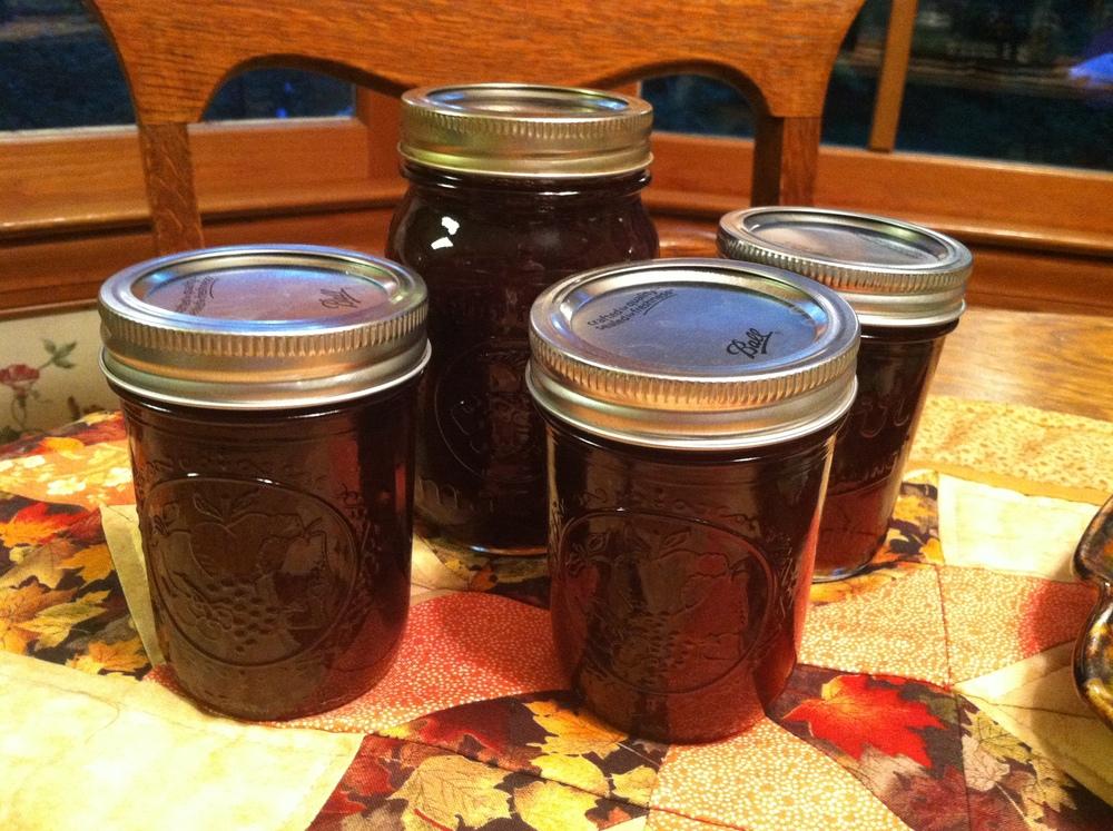 Cranberry Grand Marnier Jam