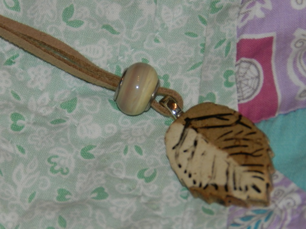 Pendant-Tan with cord