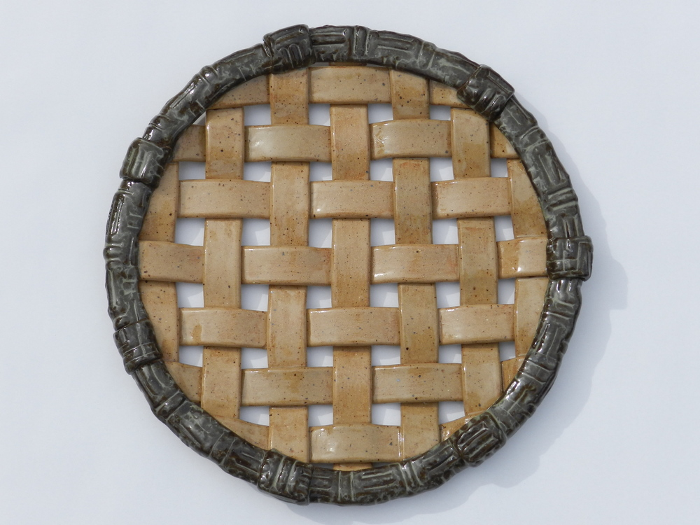Woven Tray-Natural and Dark