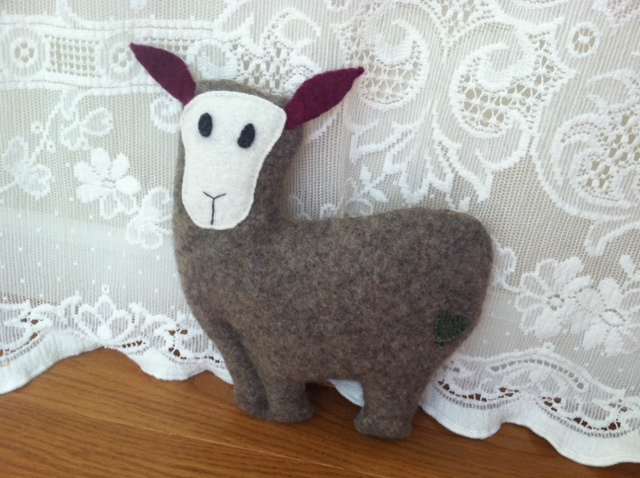 Sean, the Sheep - Front