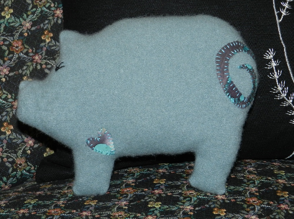 Page, the Pig-Front