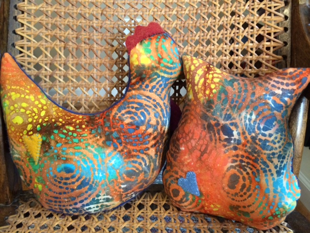 Ronald Rooster and Omar Owl-Back