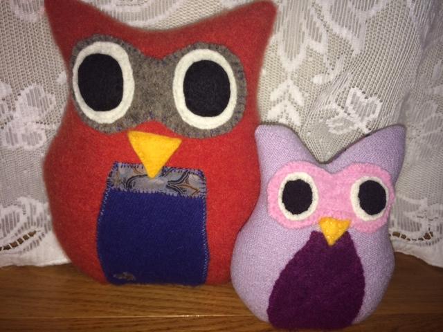 Orlando and Ophelia, the Owls