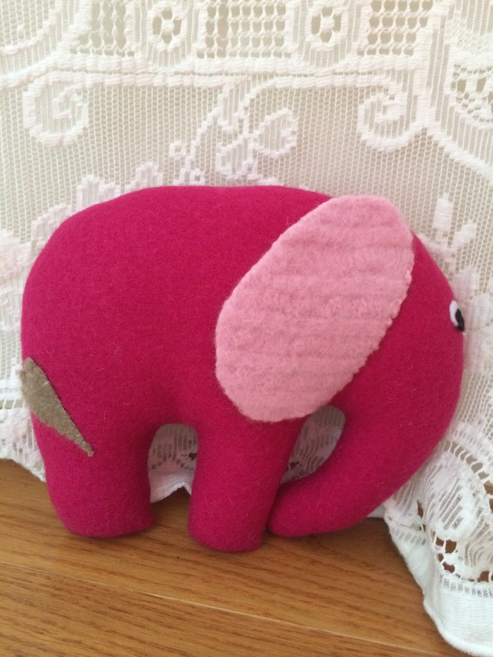 Lilly, the Elephant - Front