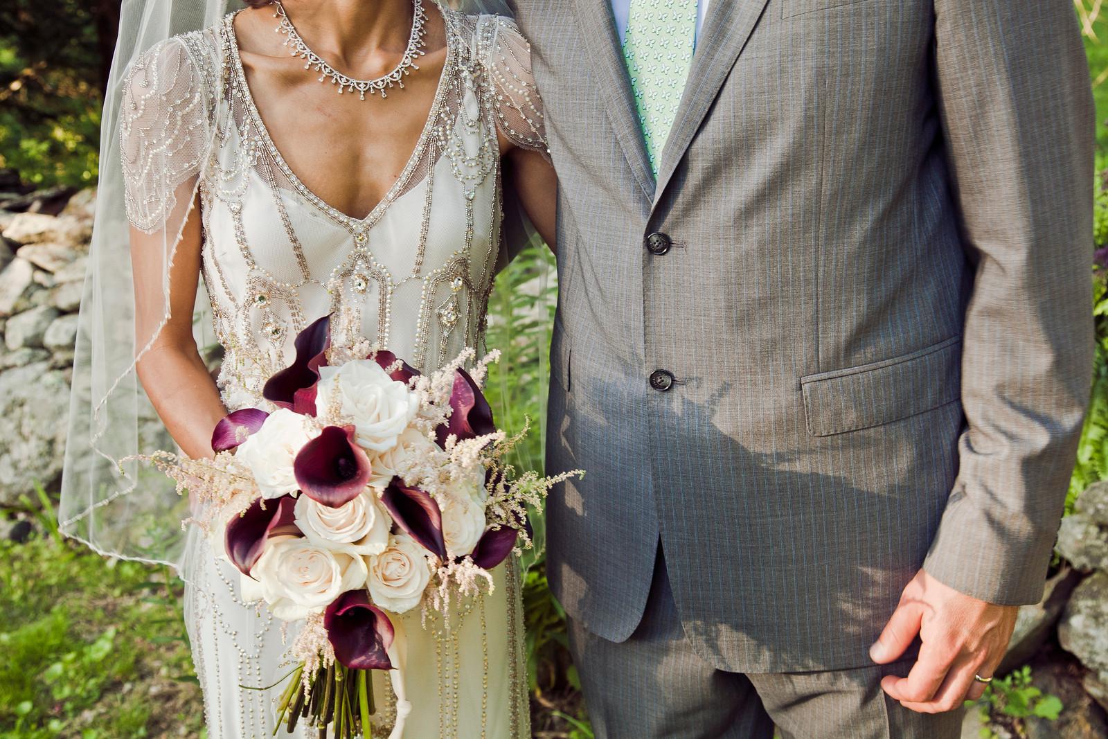 rustic vintage ct backyard wedding u2014 beimaged photography