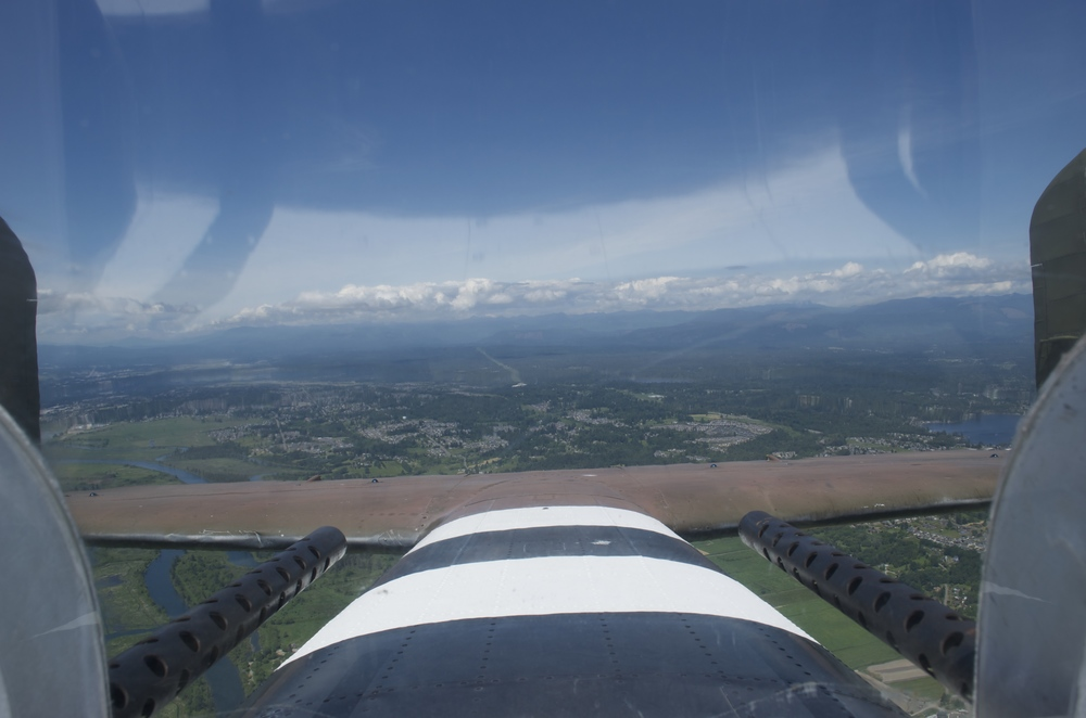 View from the gun turret