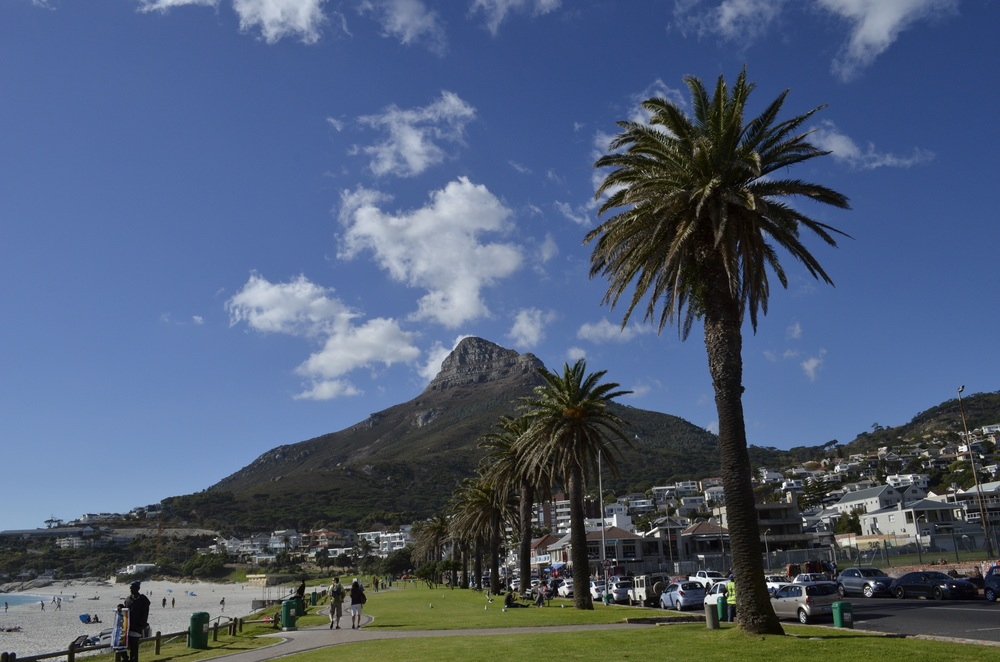 Lion's Head above Camps Bay.