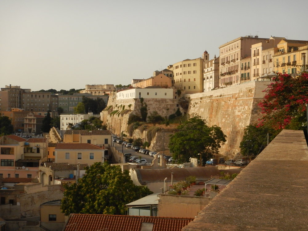View from the old city walls.