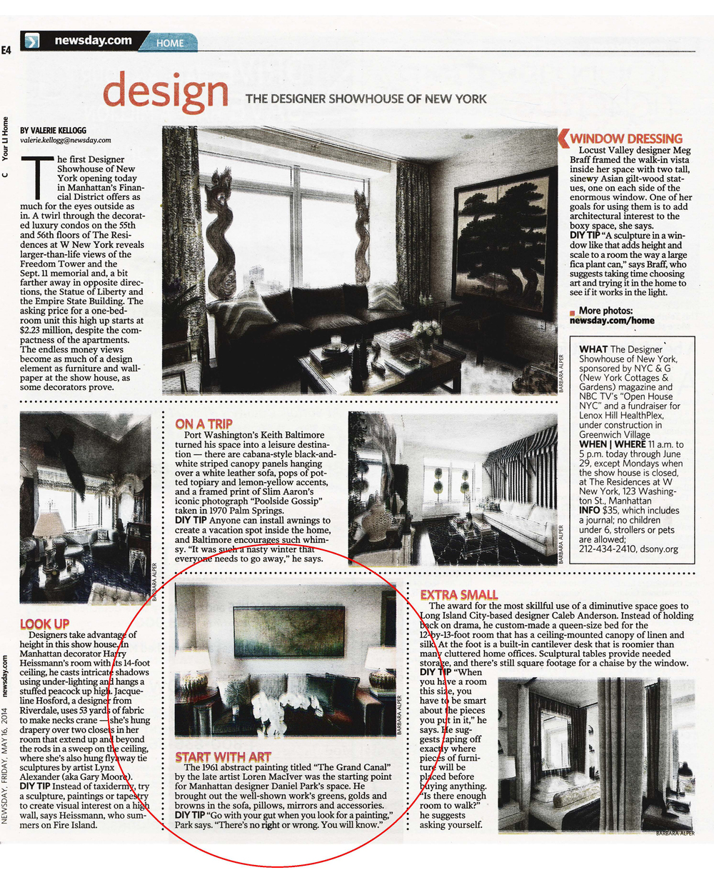 Daniel Park Design - Newsday - 051614