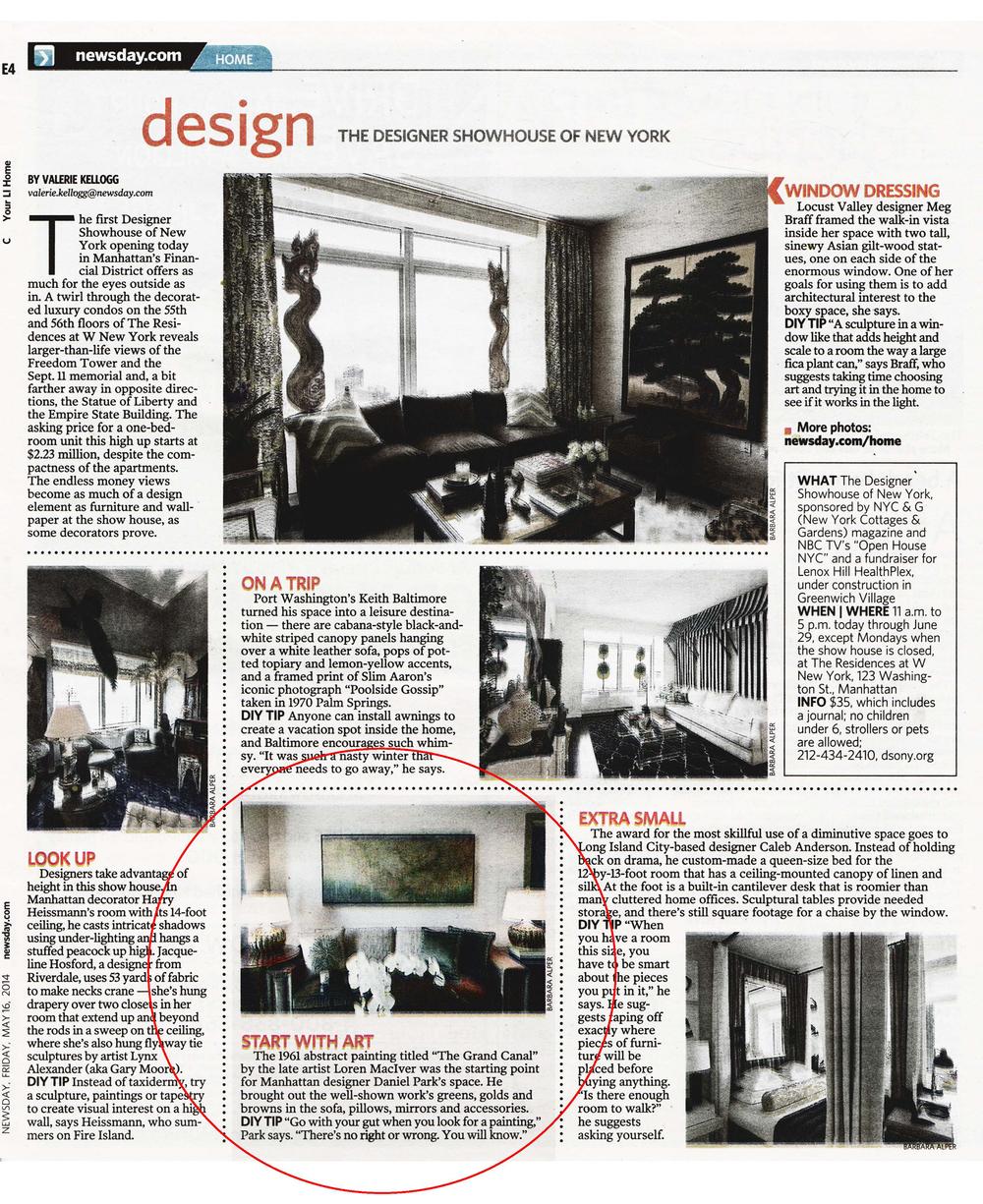Daniel Park Design - Newsday - 051614