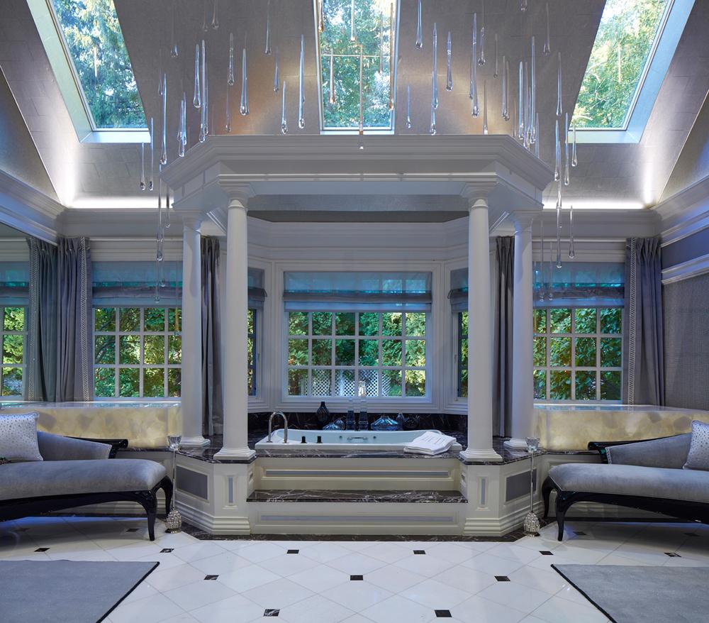 Designer showhouse of new jersey saddle river nj for Master bathroom mansion