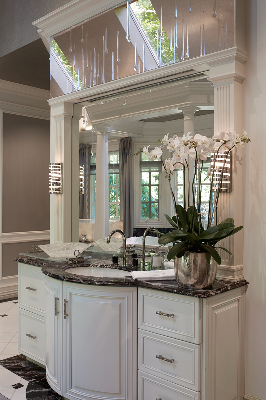 Mansion Master Bath - Saddle River | NJ