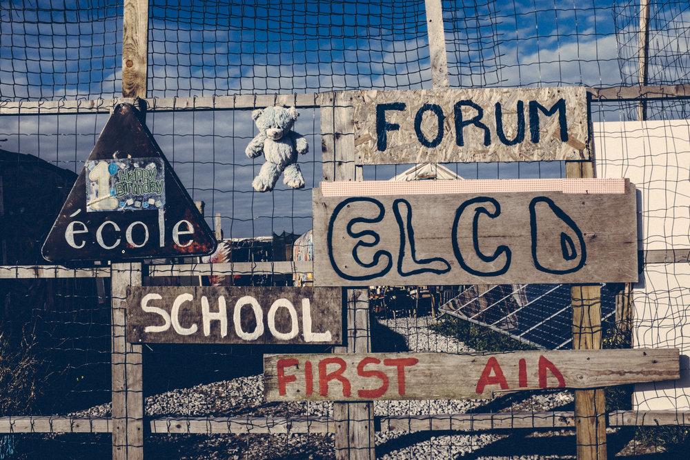 L'Ecole Laique du Chemin des Dunes. Calais, France. 2016.