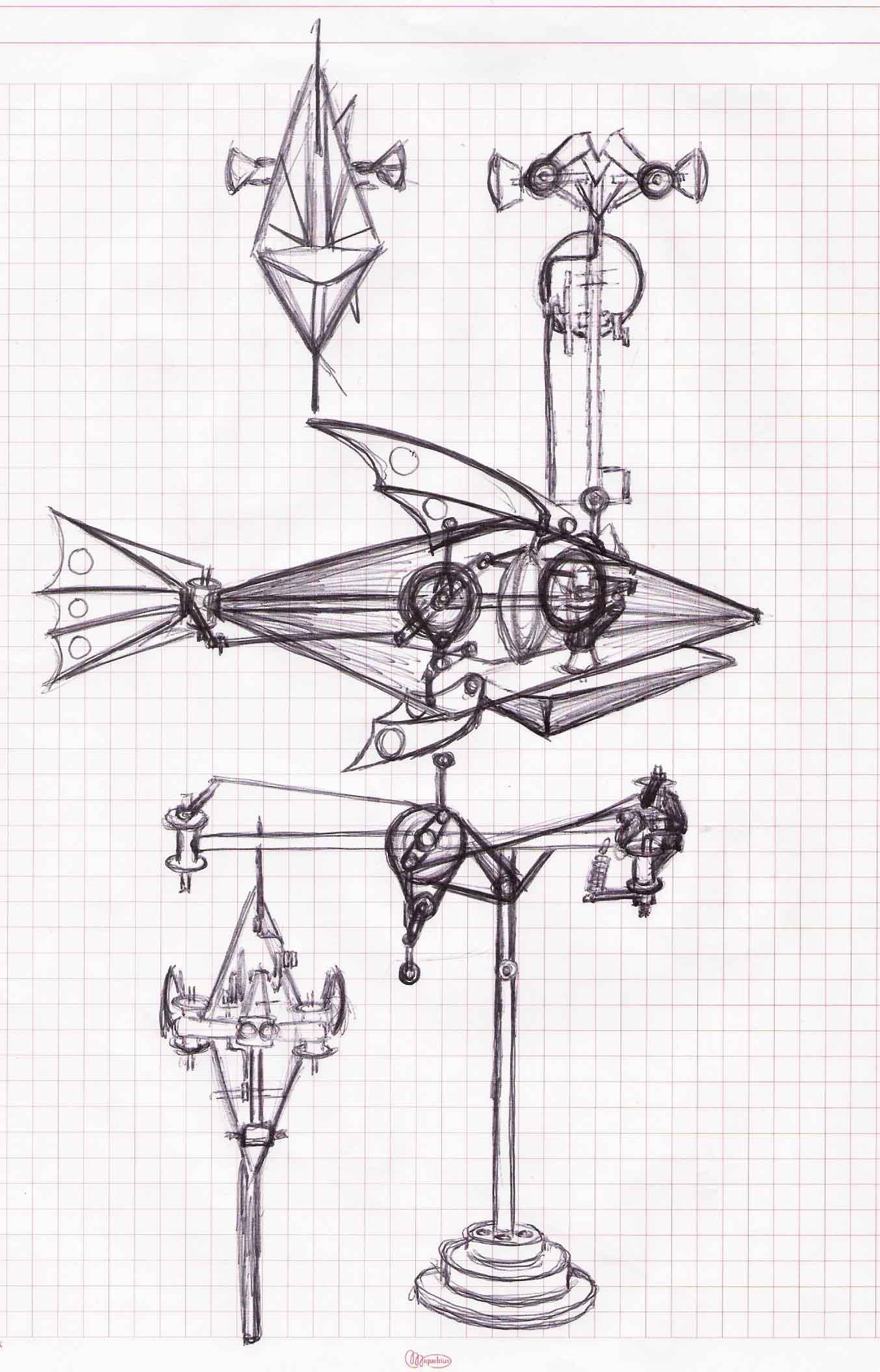 3 rd Fish Sketch