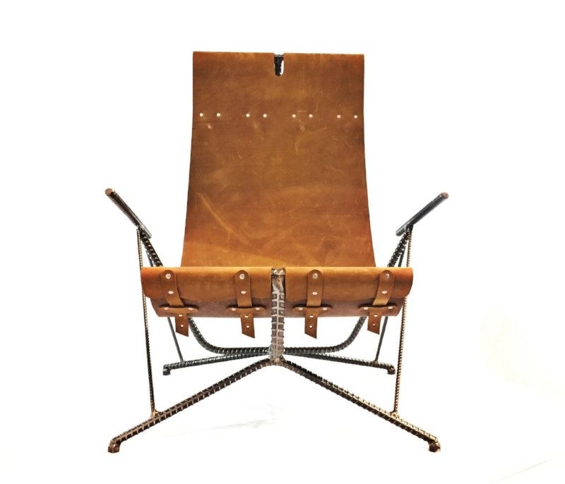 Leather Sling Chair No.2  sc 1 st  Chris Cole Designs & Leather Sling Chair No.2 u2014 Chris Cole Designs