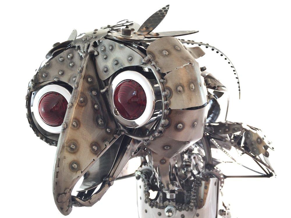 Chandelle Kinetic Sculpture by Chris Cole detail 001