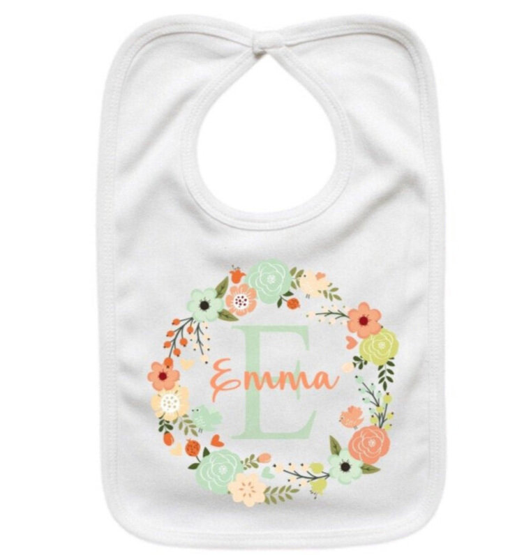 Personalized Baby Bib Baby Shower Gift For New Baby Baby Shower Gift Custom Baby Gift Custom Baby Gift Baby Bib Personalized Baby Bib
