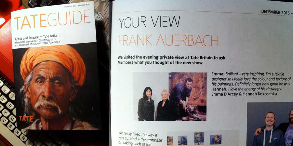 Hannah Kokoschka in Tate guide