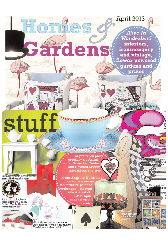 Homes & Gardens - Hannah Kokoschka Heart pop-up card