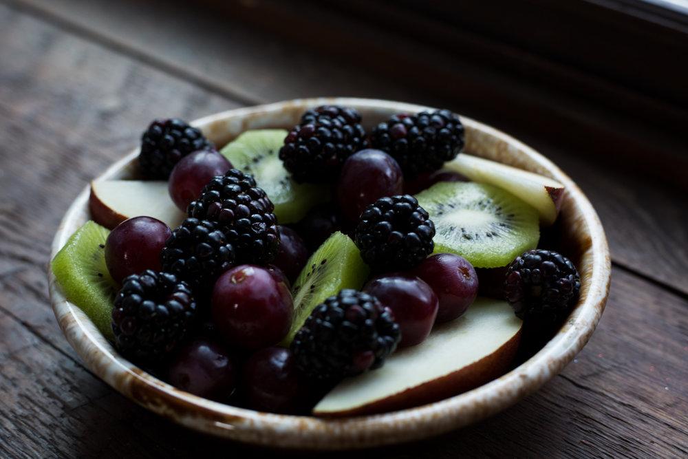 West Ashe Food Photography - fruit Bowl