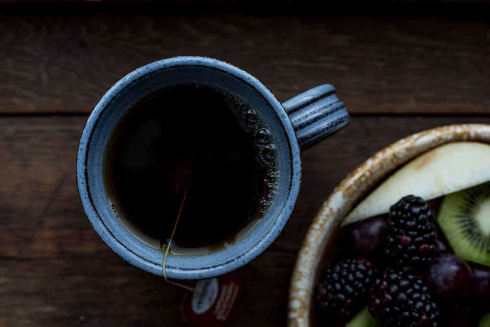 West Ashe Food Photography - cup of tea
