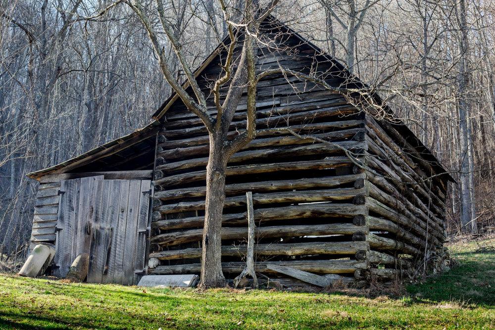 """""""Barn""""  Old tobacco barn - Marshall, NC"""