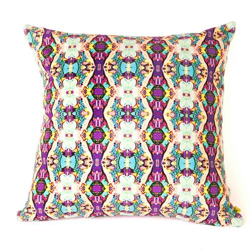 Reaction Pattern Chain Reaction Pattern Cushion