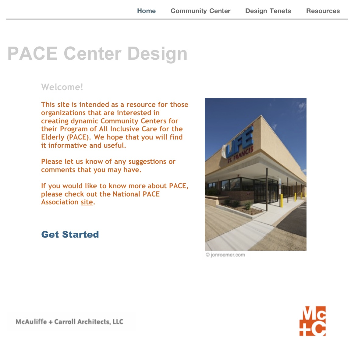 PACE Center Design