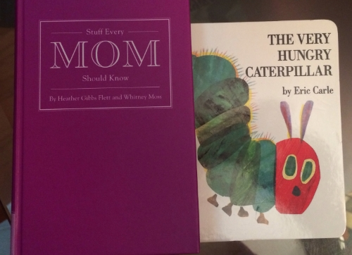 A little trinket for the moms to be and baby's first book