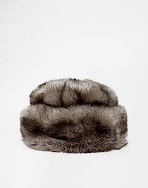 River Island Faux Fur Cosack Hat $34.11
