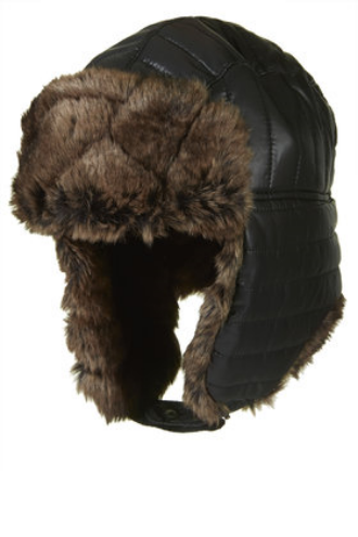 Topshop Faux Fur Quilted Trapper Hat $50