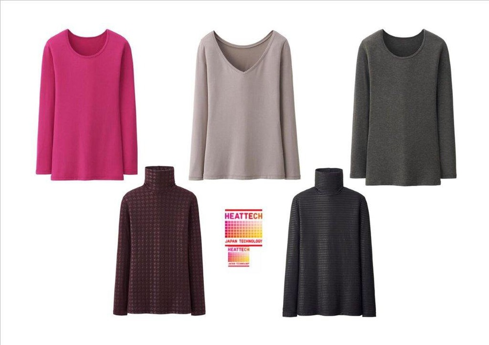 Uniqlo Heattech Shirts