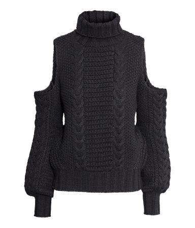 Pattern Knit Sweater