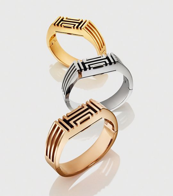 Tory Burch for Fitbit Caged Metal Bangle cover  $195 (Grab your Fitbit:  HERE )