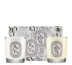 Diptyque Baies & Tubereuse Candle Duo  $60