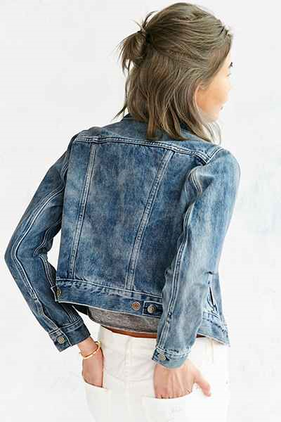 Levi's; Authentic Submerged Trucker Jacket $78