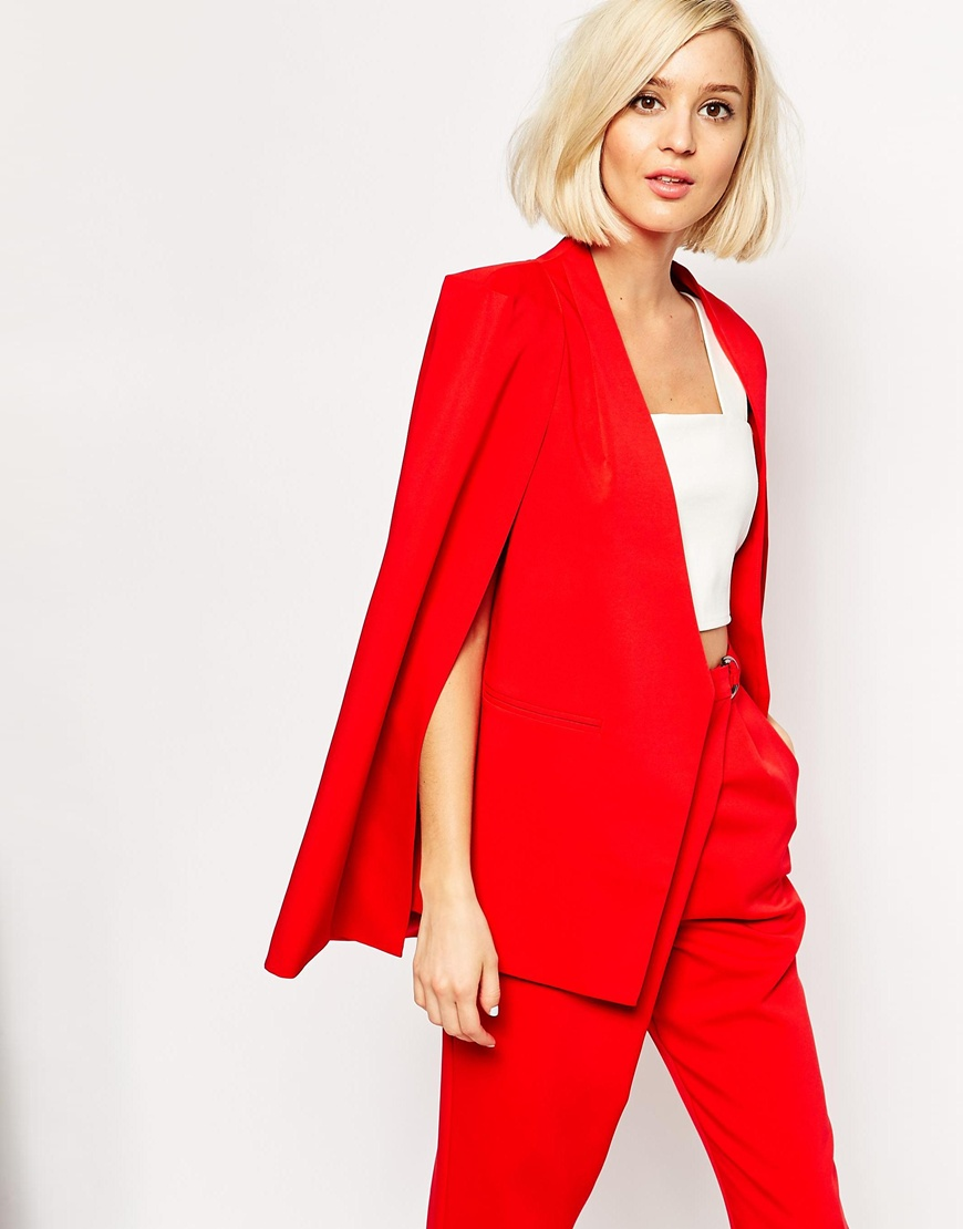 Lavish Alice Cape Blazer