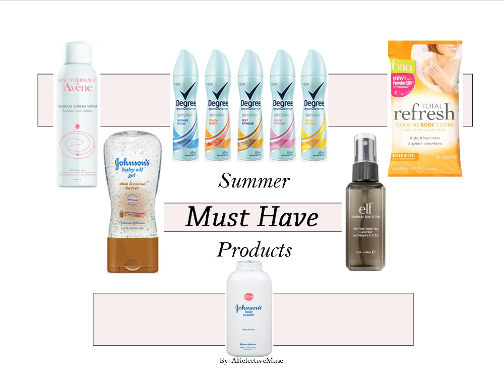2015 Summer Must Have Products