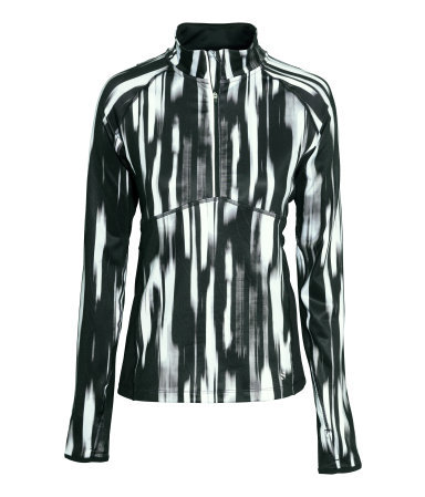 HM Black & White Running Jacket