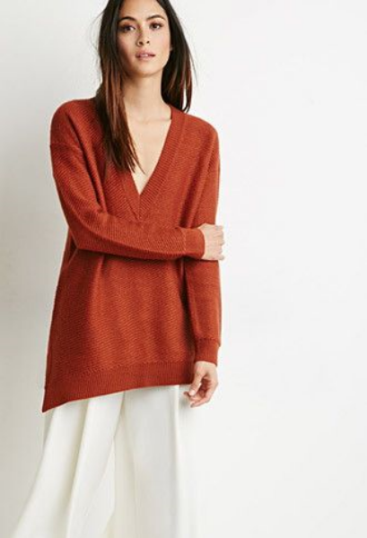 Forever 21 V-Neck Sweater