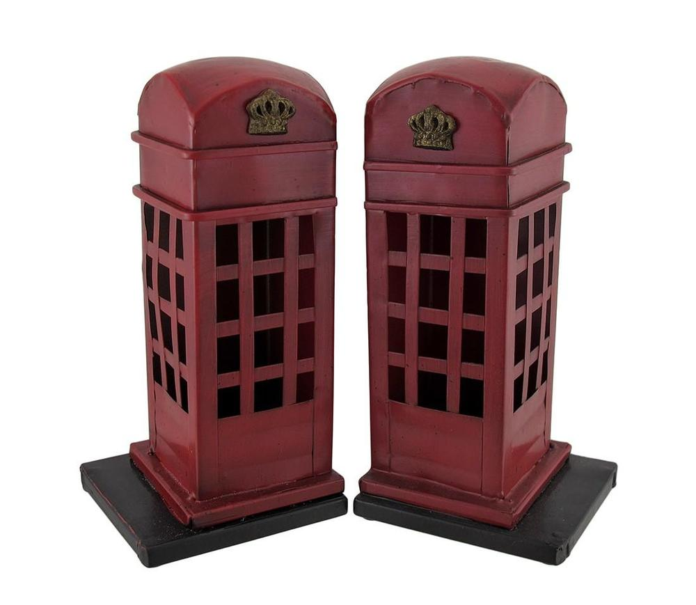 Phone Booth Bookends