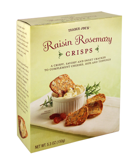 Raisin Rosemary Chips