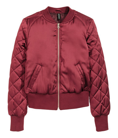 Dark Red Pilot Jacket